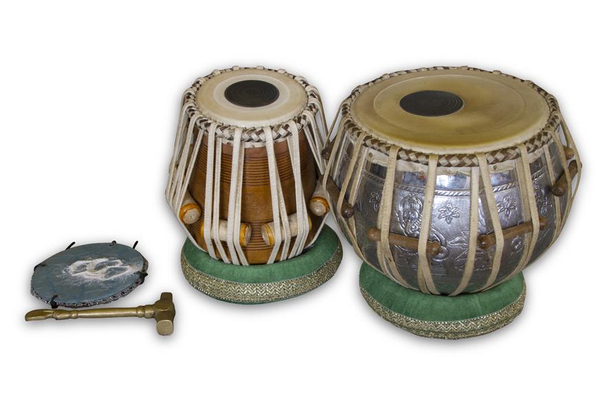 Fotografies d'instruments de l'Índia