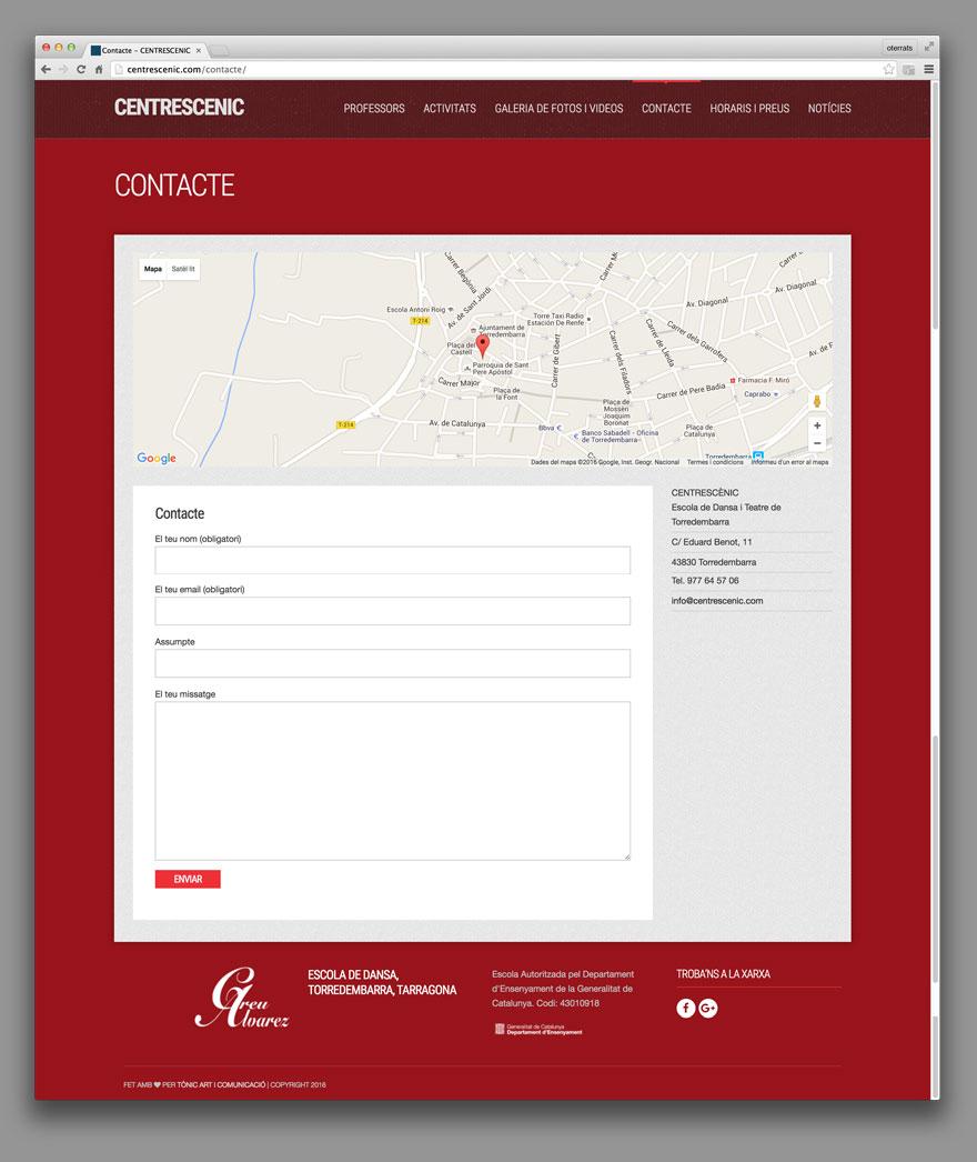Web Centre Escènic