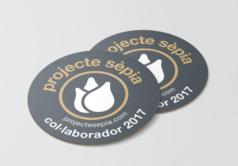Suports de màrqueting del Projecte Sèpia