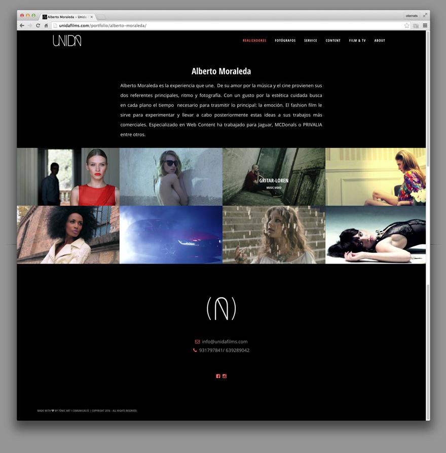 Web UNIDA